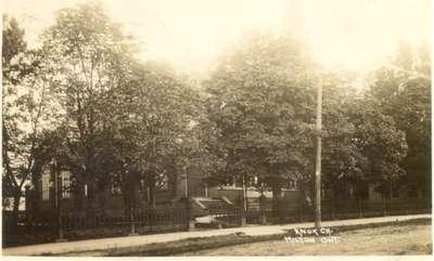 Knox Presbyterian Church with trees