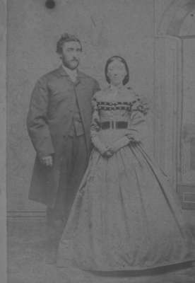 Jonathan Pearen (1843-1873) and Mary Anne (James) Pearen (1843-1914.