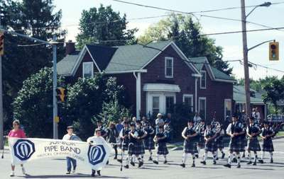Junior Pipe Band, Milton, Ontario