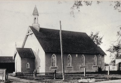 Anglican church, Omagh, Halton County, Ontario