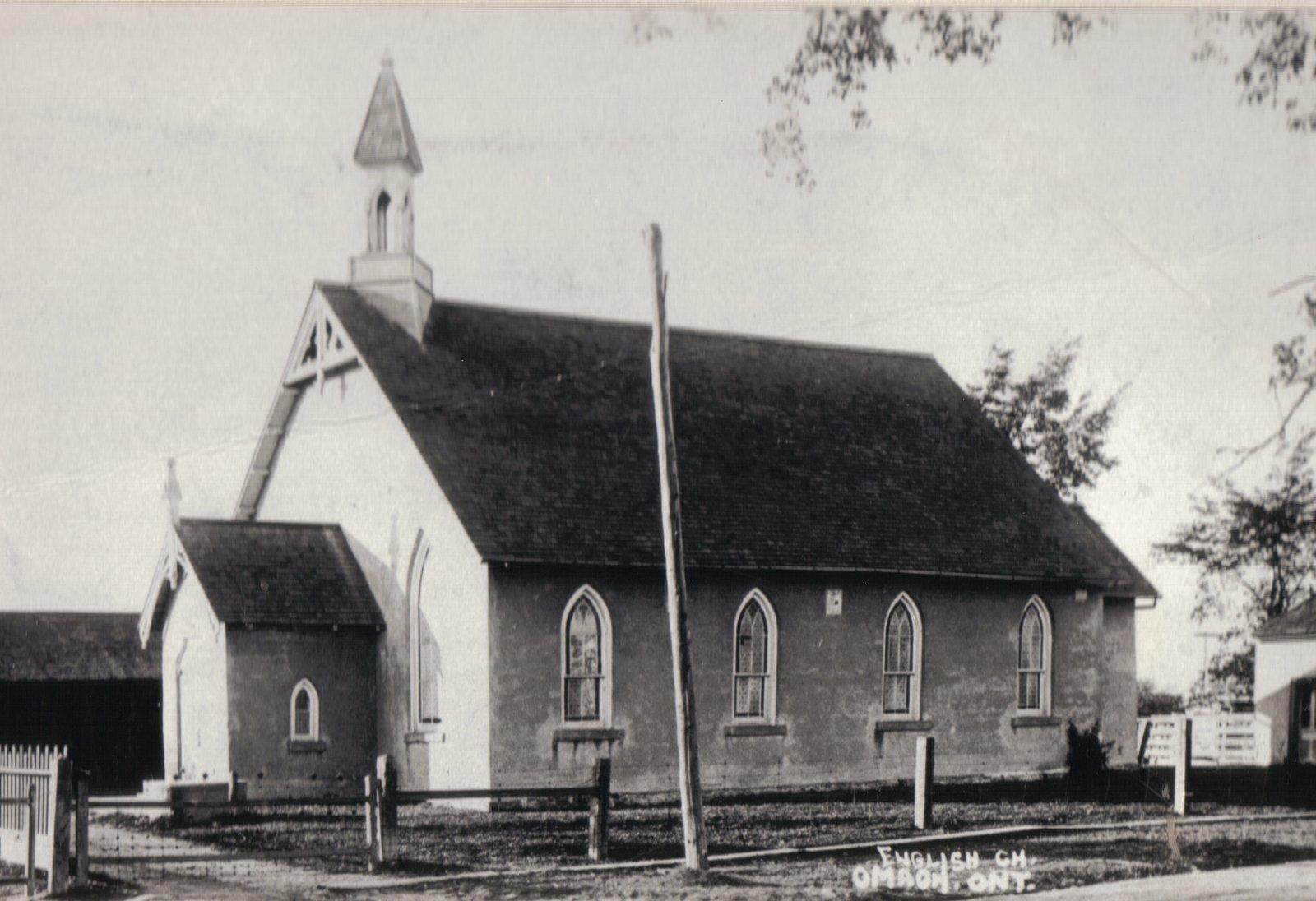 Anglican church, Omagh, Halton County, Ontario