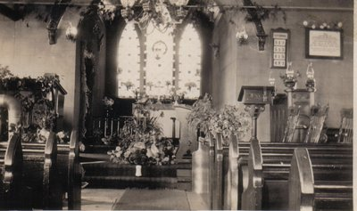 Inside of the Anglican Church at Omagh, Halton County