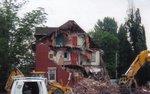 """Demolition of the """"Halton Women's Place"""" (Sheriff's House)"""