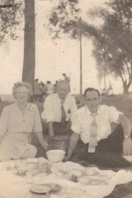 George Dawson, Annie Dell Dawson and Harold Magee