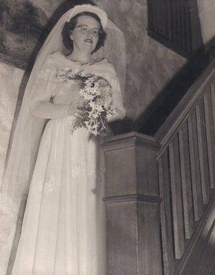Marjorie Dawson prior to her wedding