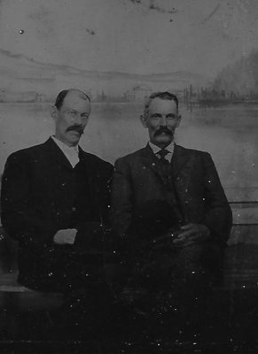 Joseph Armstrong (1861-1941) and his brother W. J. Armstrong Sr.