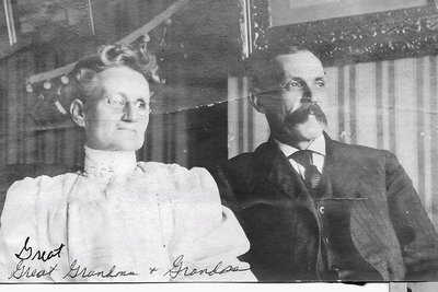 William John Armstrong Sr. and his wife Elspet.