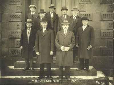 Milton Town Council 1930