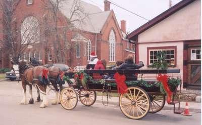 Wagon Rides at Christmas 2004