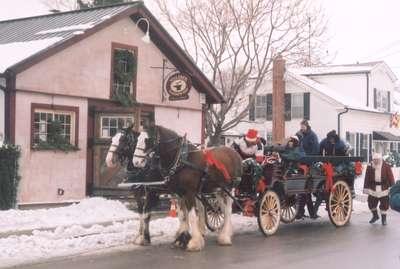 Wagon Rides at Christmas 2005