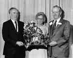 Les Ehrlick, Margaret Holmes and James H. (Red) Holmes