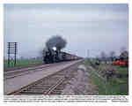 Westbound CP freight speeds into Milton