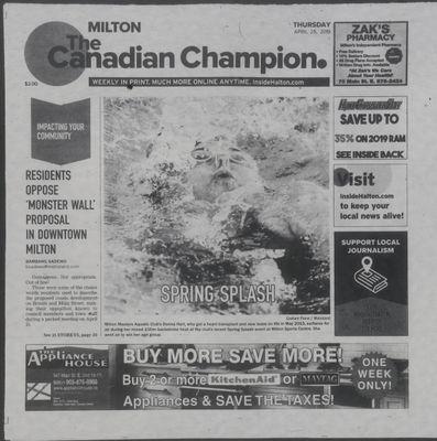Canadian Champion (Milton, ON), 25 Apr 2019