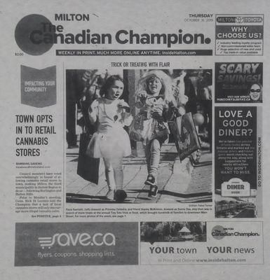 Canadian Champion (Milton, ON), 31 Oct 2019