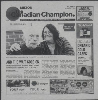 Canadian Champion (Milton, ON), 7 Nov 2019