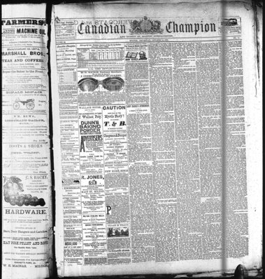 Canadian Champion (Milton, ON), 14 Oct 1886