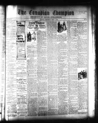 Canadian Champion (Milton, ON), 1 Sep 1898