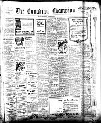 Canadian Champion (Milton, ON), 1 Jan 1920