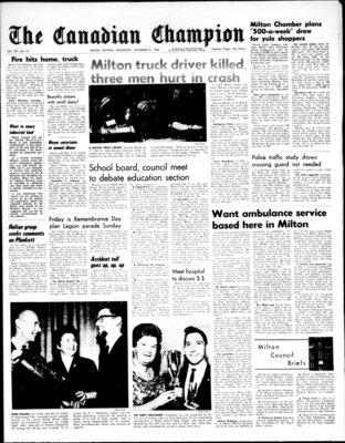 Canadian Champion (Milton, ON), 9 Nov 1966