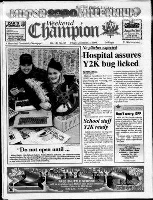 Canadian Champion (Milton, ON), 31 Dec 1999