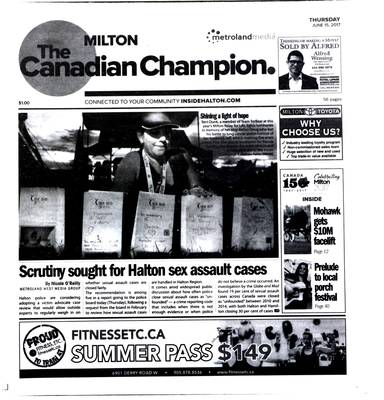Canadian Champion (Milton, ON), 15 Jun 2017