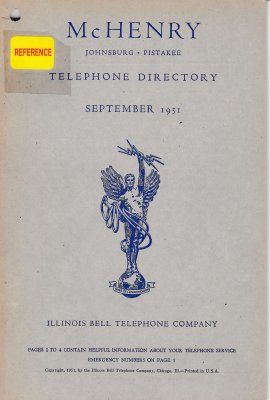 1951 September - McHenry Telephone Directories