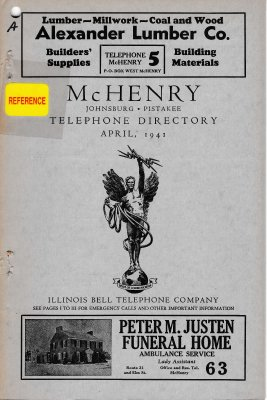 1941 April - McHenry Telephone Directory