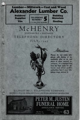 1943 Jul - McHenry Telephone Directory