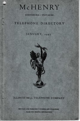 1945 January - McHenry Telephone Directory