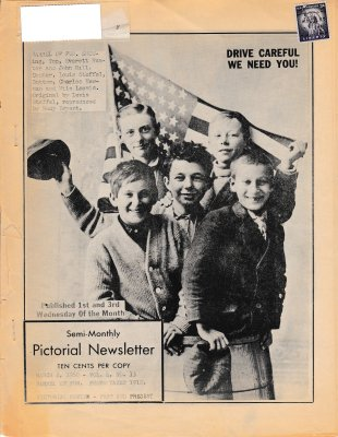 The Pictorial Newsletter: March 2, 1960