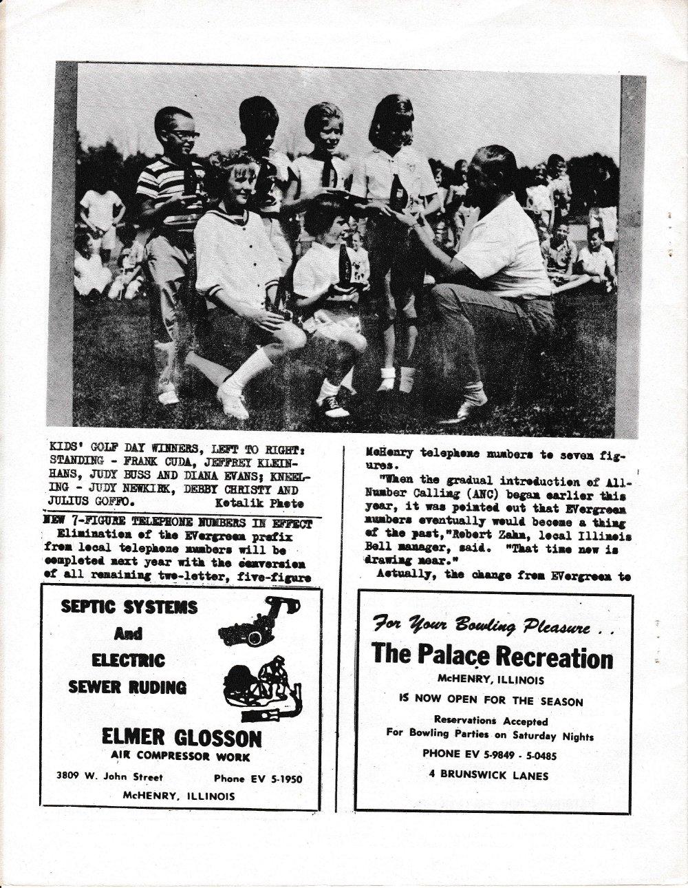 The Pictorial Newsletter: September 13, 1961