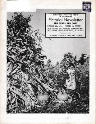 The Pictorial Newsletter: October 25, 1961