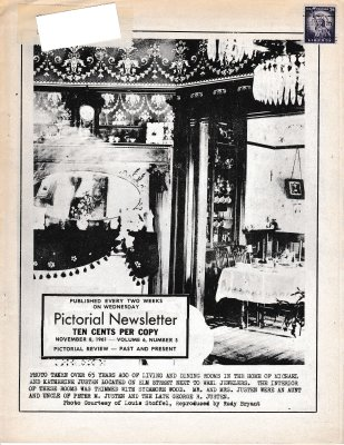 The Pictorial Newsletter: November 8, 1961