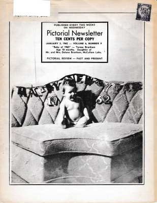 The Pictorial Newsletter: January 3, 1962