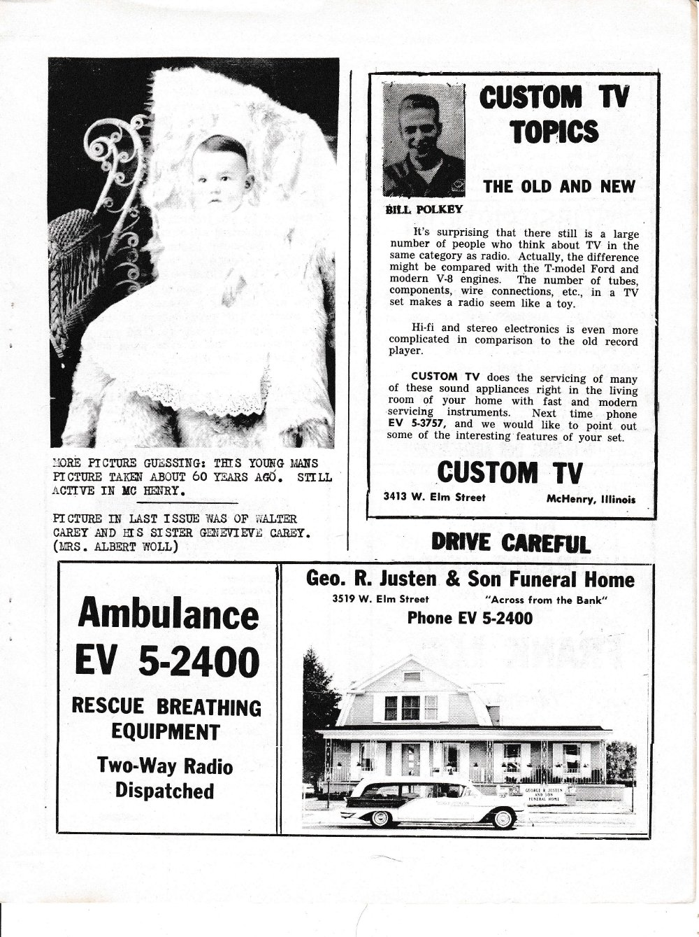 The Pictorial Newsletter: January 17, 1962