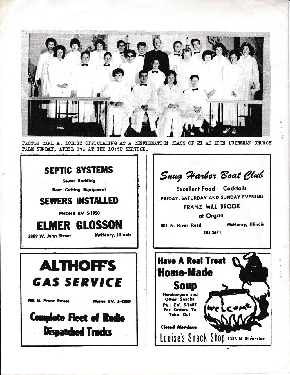 The Pictorial Newsletter: April 25, 1962