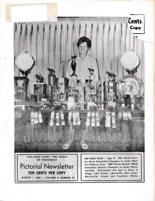 The Pictorial Newsletter: August 1, 1962