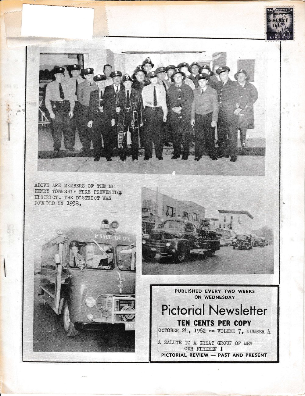 The Pictorial Newsletter: October 24, 1962