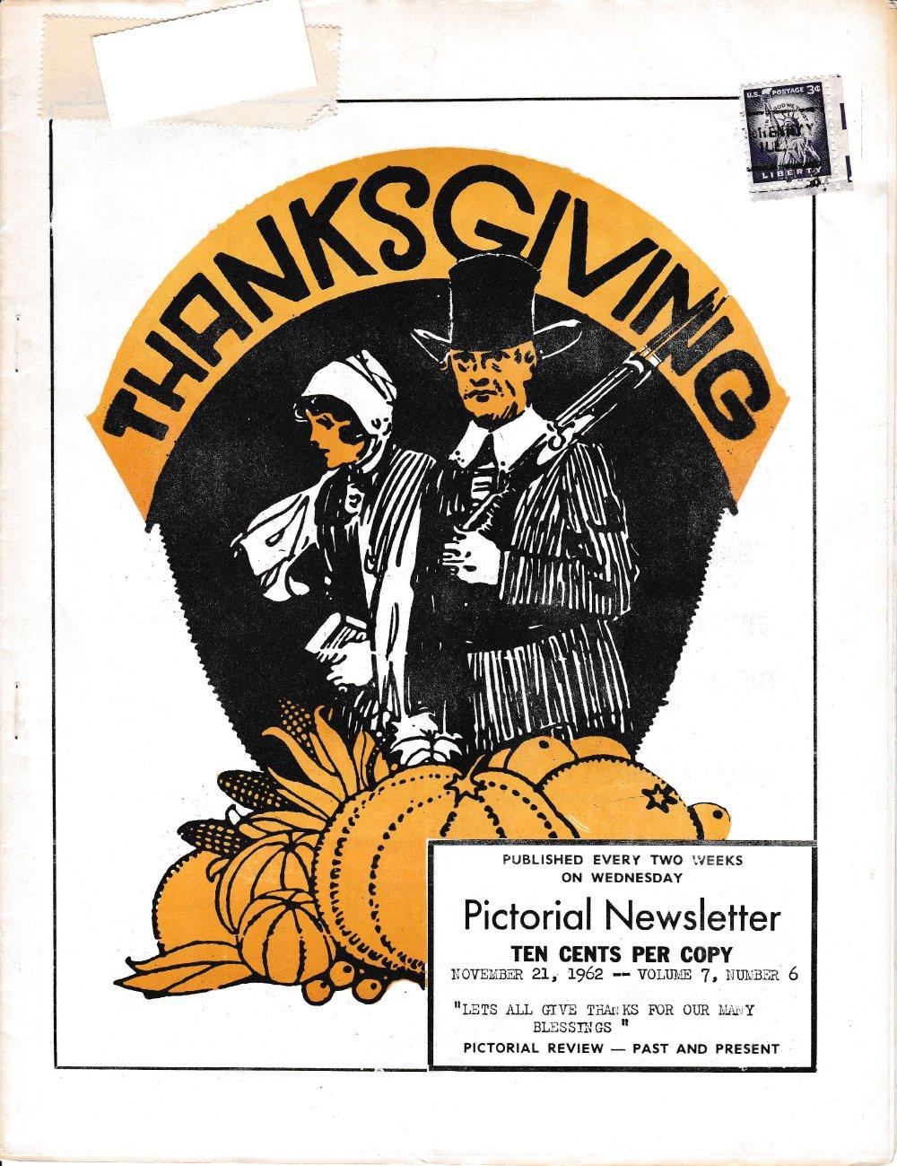 The Pictorial Newsletter: November 21, 1962