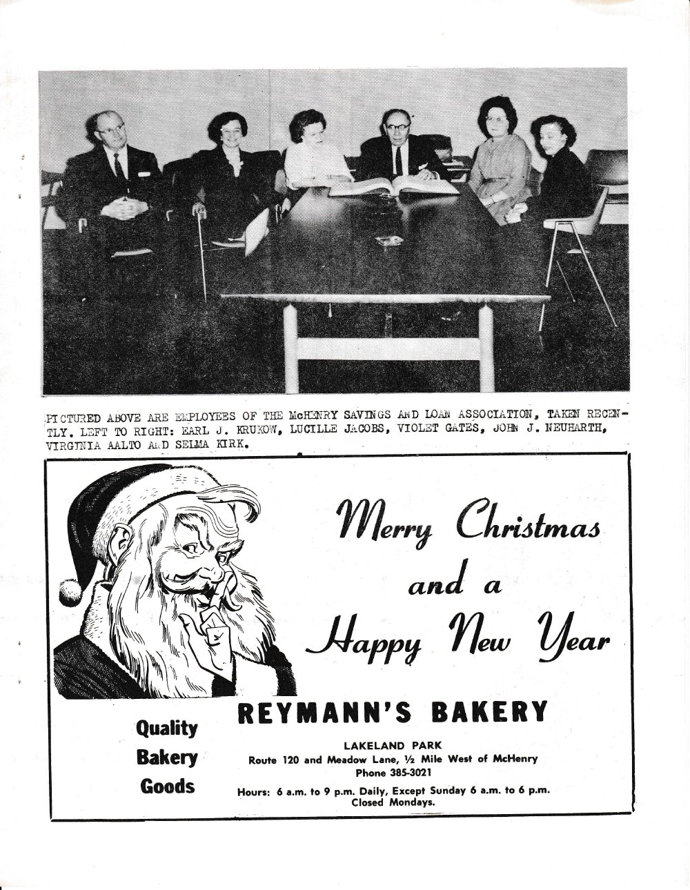 The Pictorial Newsletter: December 19, 1962