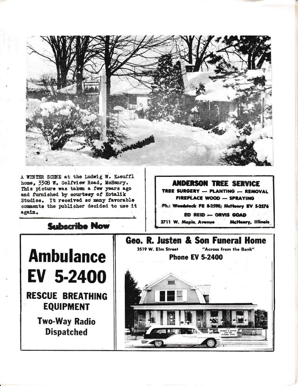 The Pictorial Newsletter: December 19, 1962