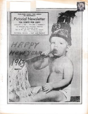 The Pictorial Newsletter: January 2, 1963