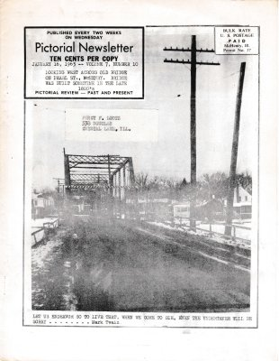 The Pictorial Newsletter: January 16, 1963