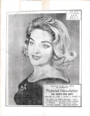 The Pictorial Newsletter: February 27, 1963