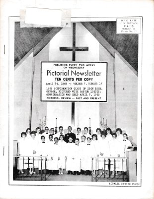 The Pictorial Newsletter: April 24, 1963