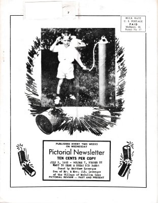 The Pictorial Newsletter: July 3, 1963
