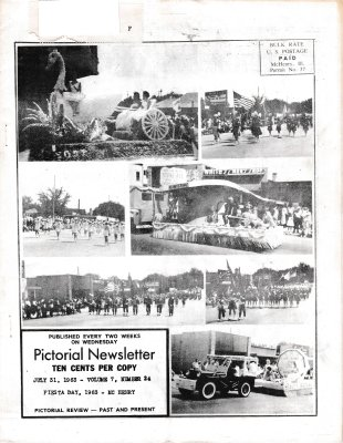 The Pictorial Newsletter: July 31, 1963