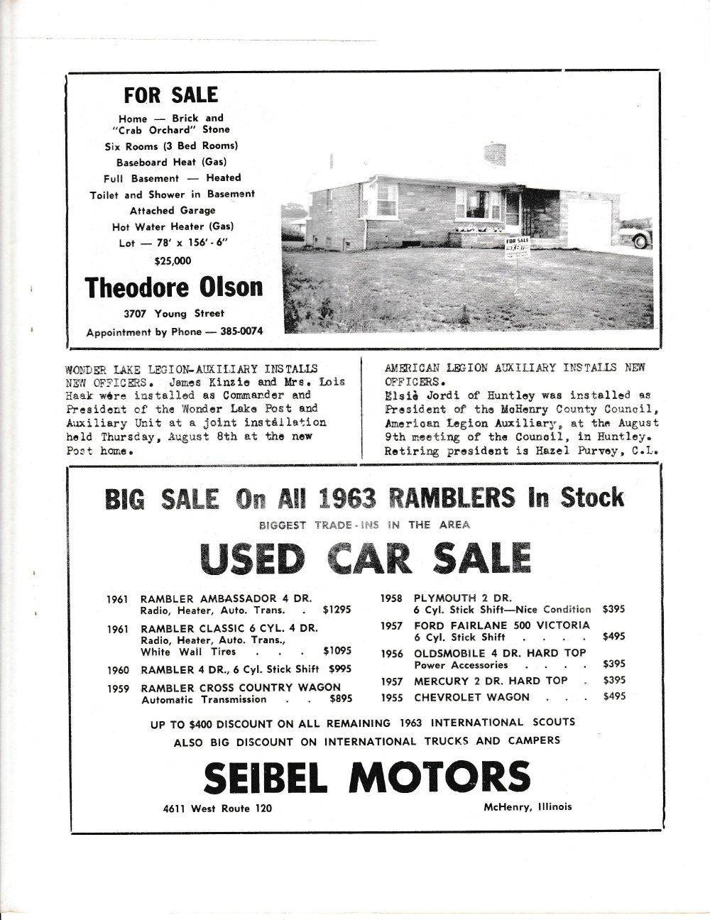 The Pictorial Newsletter: August 14, 1963