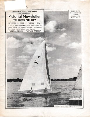 The Pictorial Newsletter: September 25, 1963