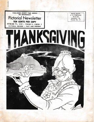 The Pictorial Newsletter: November 20, 1963